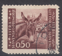 Istria Litorale Yugoslavia Occupation, 1946 Sassone#52 Used