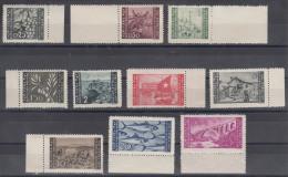Istria Litorale Yugoslavia Occupation, 1946 Sassone#51-60 Mint Never Hinged