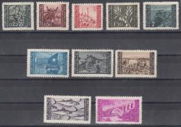 Istria Litorale Yugoslavia Occupation, 1945 Sassone#41-50 Mint Hinged