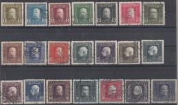 Austria Occupation Of Bosnia 1912 Mi#64-84 Used - Used Stamps