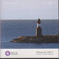 Coin Finland Coinage 2011 / I 0.01 - 2  Euro UNC - Rahasarja 2011/I - Lighthouse - Harmaja - Finland