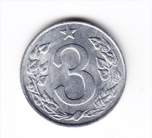 1963 Czechoslovakia 3 Heller Coin - Tchécoslovaquie