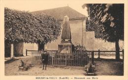 Moussy-le-Vieux (Seine Et Marne) - Monument Aux Morts - Collection Rousseau - Carte Non Circulée - Monuments Aux Morts