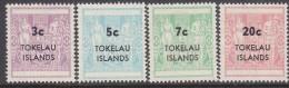 TOKELAU, 1968 ARMS TYPE OF NZ 4 MNH - Tokelau