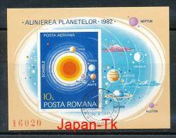 RUMÄNIEN  Mi.Nr. Block 182  Planetenkonstellation Im Jahr 1982- Used - Blocks & Sheetlets