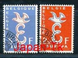 BELGIEN Mi.Nr. 1117-1118 Europa -1958 - Used - 1958