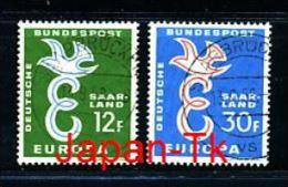 GERMANY -SAARGEBIET Mi.Nr. 439-440 Europa -1958 - Used - 1958