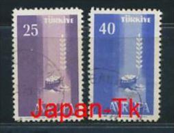 TÜRKEI Mi.Nr. 1610-1611 Europa -1958 - Used - 1958