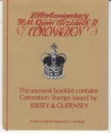 JERSEY/GUERNSEY, 1978 CORO ANNIV SOUVINER B/LET - Jersey