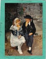 FOLKLORE COSTUME ENFANTS GUEMENE SUR SCORIF LIGNOL BUBRY INUINIEL - Pont L'Abbe