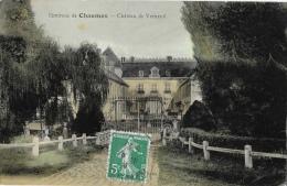 Environs De Chaumes (Seine Et Marne) - Château De Verneuil - Carte Colorisée - Non Classés