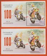 VIETNAM  IMPERF+PERF   MOTOS **MNH Réf  C329 - Motos