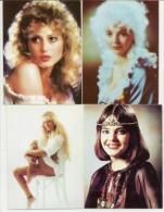 Pocket Calendars USSR 1991 - 5 Pcs.  - Girls - Original Photo - Hairstyle -  Advertising - Calendriers
