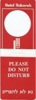 Hotellerie/Do Not Disturb/Vous Pouvez Faire La Chambre/Hotel Deborah/Tel Aviv/Israël/Années70-80  DND1 - Other