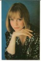 Pocket Calendars USSR 1991 - Girl - Actress Marina Shimanskaya -  Advertising - Calendriers