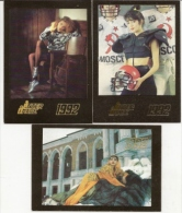 Pocket Calendars  Russia  1992 - 3 Pcs. - Girls - Fashion -  Advertising - Calendriers