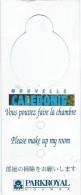 Hotellerie/Do Not Disturb/Hotel Parkroyal/Nouméa/Nouvelle Calédonie/Années 70-80  DND4 - Other