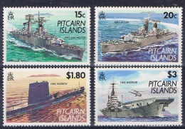 K 841 PITCAIRN ISLANDS  XX  YVERT NR 397/400 ZIE SCAN - Timbres