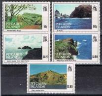 K 843 PITCAIRN ISLANDS  XX  YVERT NR 402/406 ZIE SCAN - Timbres
