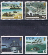 K 846 PITCAIRN ISLANDS  XX  YVERT NR 421/424  ZIE SCAN - Timbres