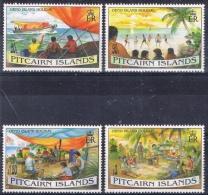 K 848 PITCAIRN ISLANDS  XX  YVERT NR 444/447  ZIE SCAN - Pitcairn