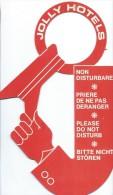Hotellerie/Do Not Disturb/Jolly Hotels /Années 70-80  DND11 - Other