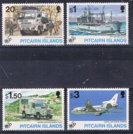 K 851 PITCAIRN ISLANDS  XX  YVERT NR 452/455  ZIE SCAN - Pitcairn