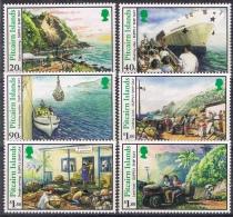 K 852 PITCAIRN ISLANDS  XX  YVERT NR 456/461  ZIE SCAN - Pitcairn