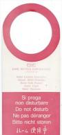 Hotellerie/Do Not Disturb/CHC/Cori Hotels Coporation/VENISE/Italie/Années 70-80  DND15 - Other