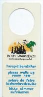 Hotellerie/Do Not Disturb/Hotel Sanur Beach /BALI/Indonésie/Années 70-80  DND18 - Other