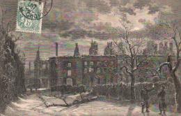 92 SAINT CLOUD RUINES DU PALAIS IMPERIAL CIRCULEE 1907 - Saint Cloud