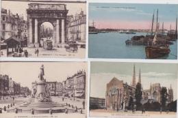 LOT  DE  8  CPA  DE  BORDEAUX  ( 33 )    -  Toutes Scanées - Cartoline