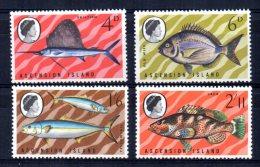 Ascension Island - 1969 - Fish (2nd Series) - MNH - Ascension (Ile De L')