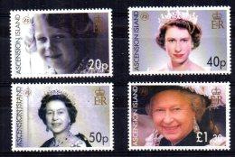 Ascension Island - 2006 - Queen Elizabeth II 80th Birthday - MNH - Ascension (Ile De L')