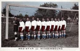 WISSEMBOURG 67 EQUIPE DE FOOTBALL RED STAR  BELLE CARTE RARE !!! - Wissembourg