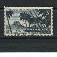 OCEANIE - Y&T Poste Aérienne N° 32° - Pic De Bahia à Bora-Bora - Airmail