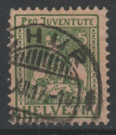 SUISSE - 1915 - Obl. - Y&T 155 Valeur  7.5€ - Gebraucht