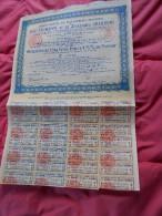 Obligation Cinq Cents Francs SA Ets Industriels E C GRAMMONT Et Alexandre GRAMMONT Avec  Coupons - 1922 - Industrie