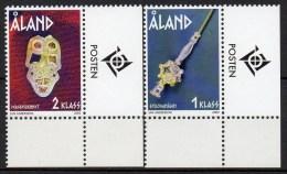 Aland - 2002 - Yvert N° 210 & 211 ** - Aland