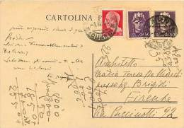 INTERI POSTALI - LUOGOTENENZA UMBERTO II - SINTONI C  120- USATO - 4. 1944-45 Repubblica Sociale