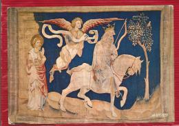 ANGERS - Dépt 49 - Au Château - Tapisserie De L'Apocalypse - Un Cavalier Apparait Sur Un Cheval Blanc Tenant Un Arc - Angers