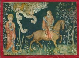 ANGERS - Dépt 49 - Au Château - Tapisserie De L'Apocalypse - ...la Famine Sur Son Cheval Noir - CPSM - Angers