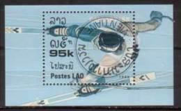 Laos , 1988 , Block Mi.Nr. 120 ( 1066 ) O / Used - Laos