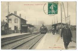 27 - GAILLON - Intérieur De La Gare - CPA - Non Classés