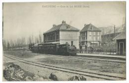 38 - DAUPHINE - Gare De LA MURE  - CPA - La Mure