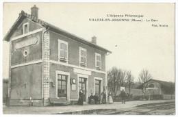 51 - VILLERS-EN-ARGONNE - La Gare - CPA - Unclassified