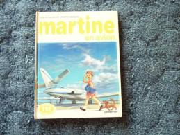 Martine En Avion - Collection Farandole / Casterman Imprimé En 1984 - Martine