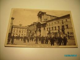 ITALY CIVITAVECCHIA  PIAZZA VITTORIO EMANUELE  , OLD POSTCARD , O - Civitavecchia