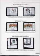 Bund Kompletter Jahrgang1998 Für  Ringbinder Deutschland Plus Ohne Marken - Albums & Binders