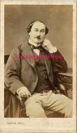 Vers 1870-CDV Portrait D'un Notable, Monocle En Pendentif-TB état-photo Franck Rue Vivienne à Paris - Photographs